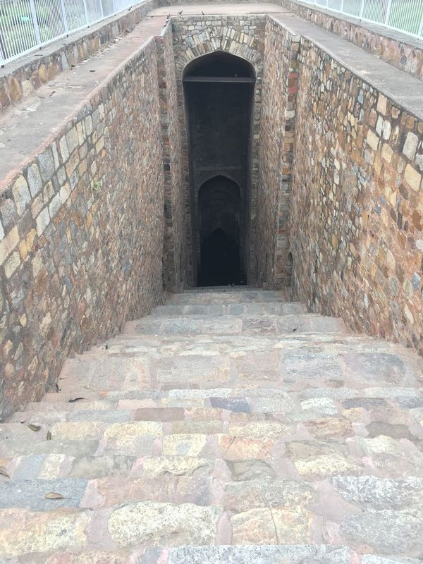 Finding New Frontiers Gateway Somewhere Hidden Hidden Places Steps Leading Nowhere or FAR AWAY ! Day Outdoors Step Well Old Architecture Old Delhi Fort No People Weird Mystery 🐾👣 India Delhi Good Luck Finding