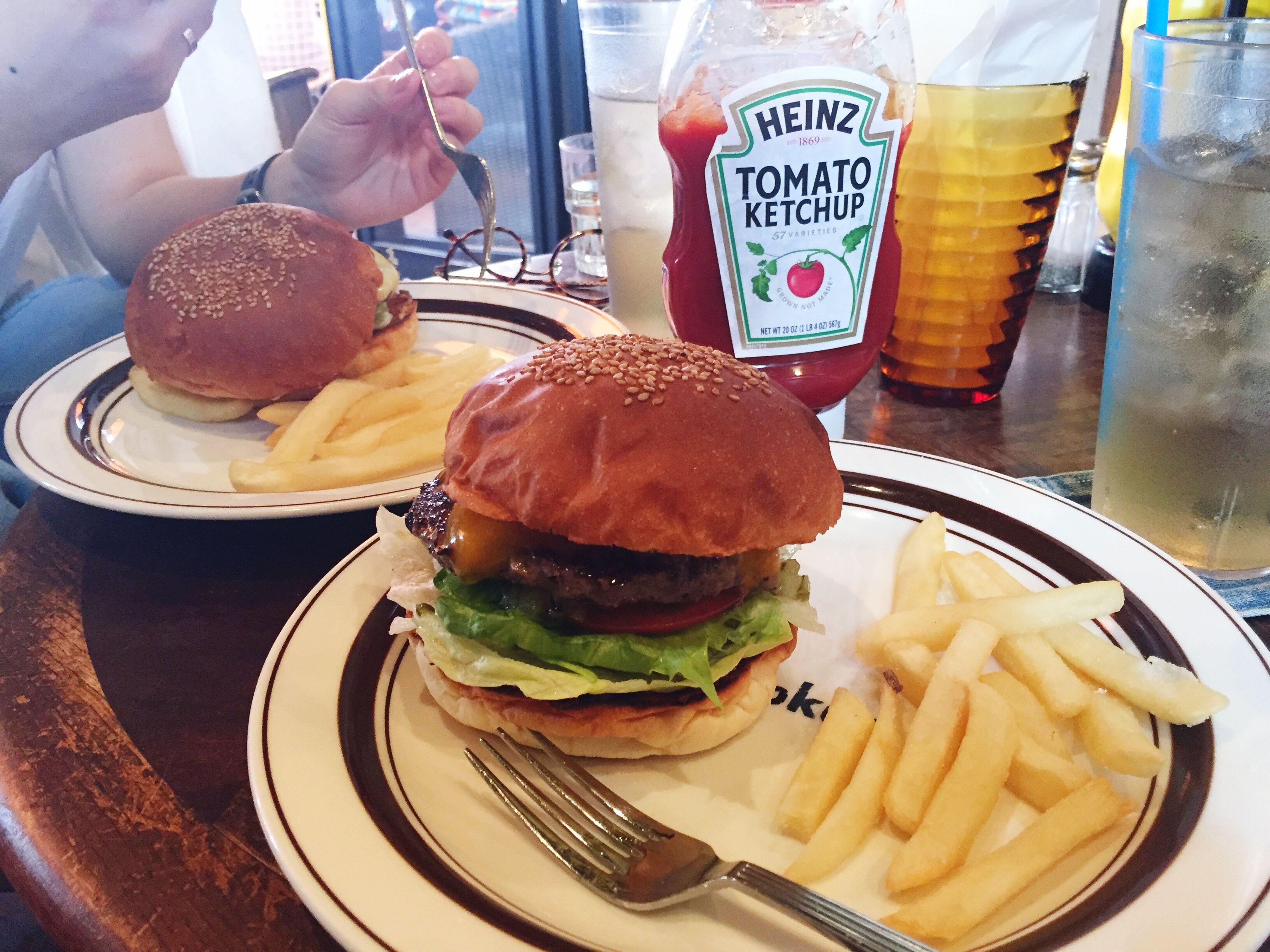 昨日のハンバーガー。 4/22 Humberger Love Yummy Tokyo Cheese