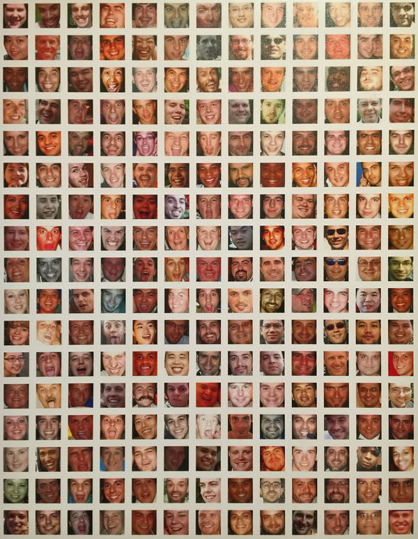 photo of many selfie faces on a artistic wall Art Artistic Face Faces Many Faces  Many People Selfie Selfies Selifesunday