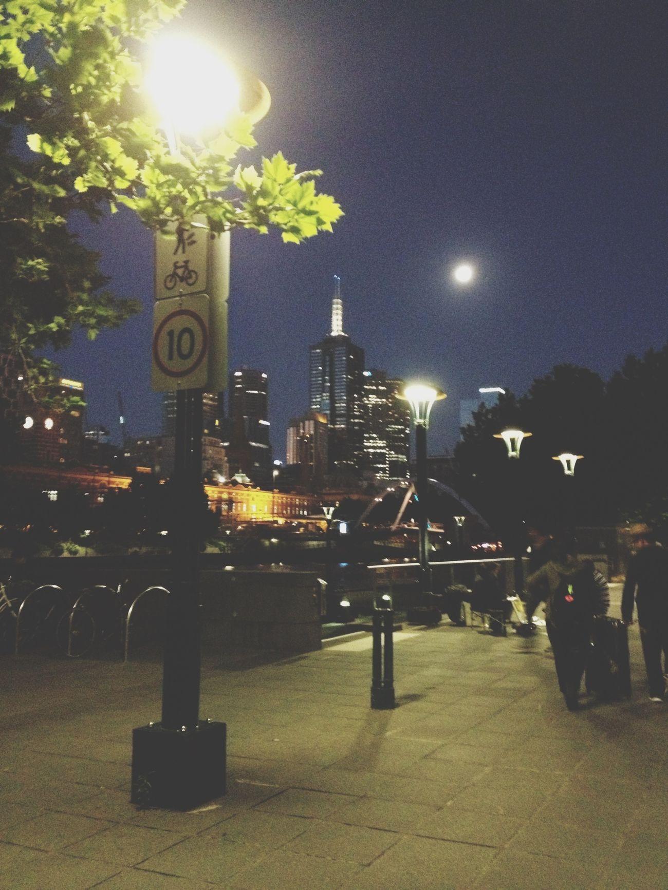 NEM Street EyeEm Melbourne Urban Landscape Nightphotography
