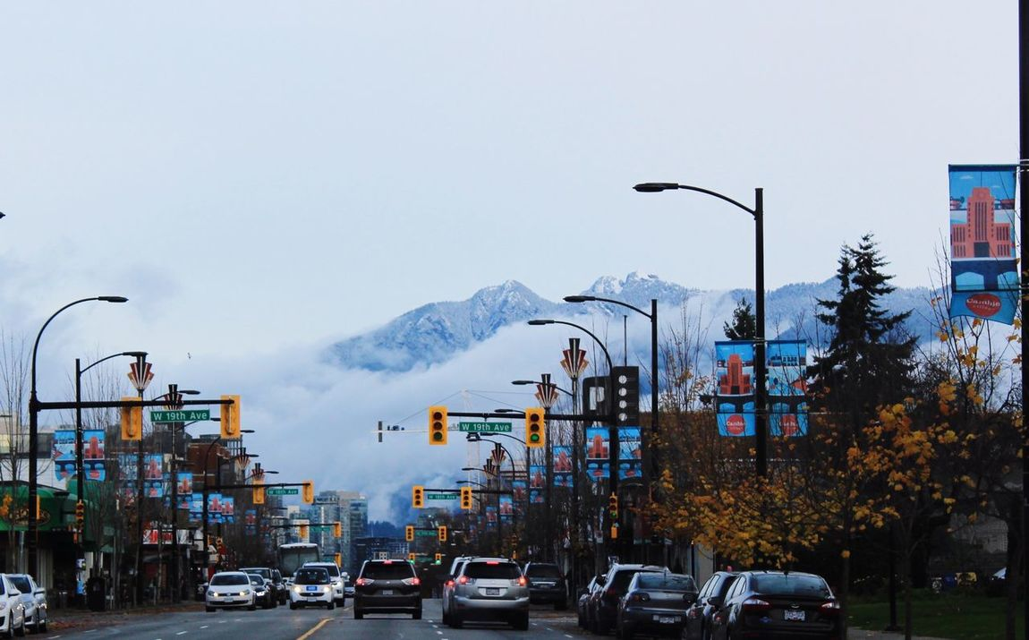 North Shore Mountains Vancouver Canada Streetphotography