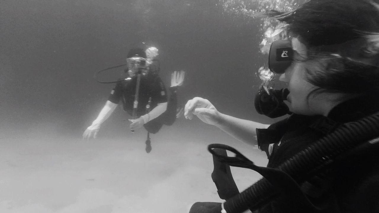 SCUBA Scubadiving Diver Sea Ocean