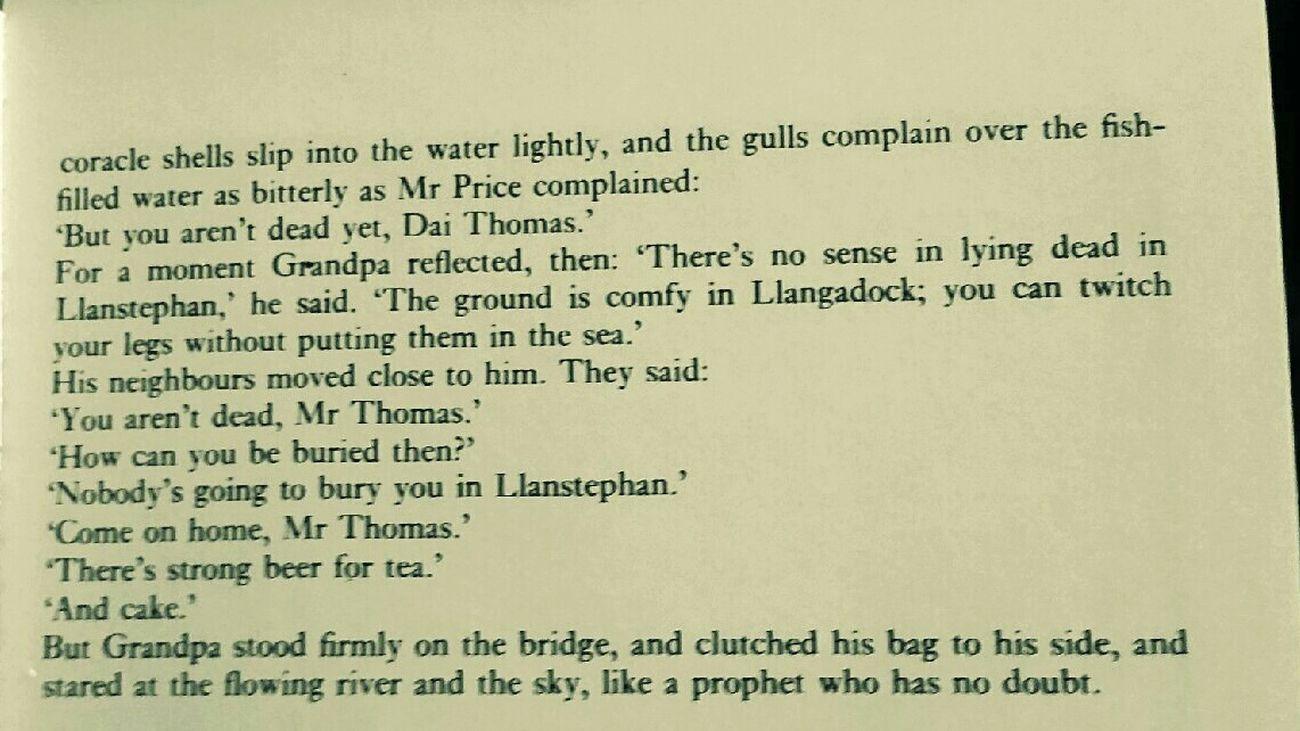 Llansteffan Poet Wales Dylan Thomas Autobiography
