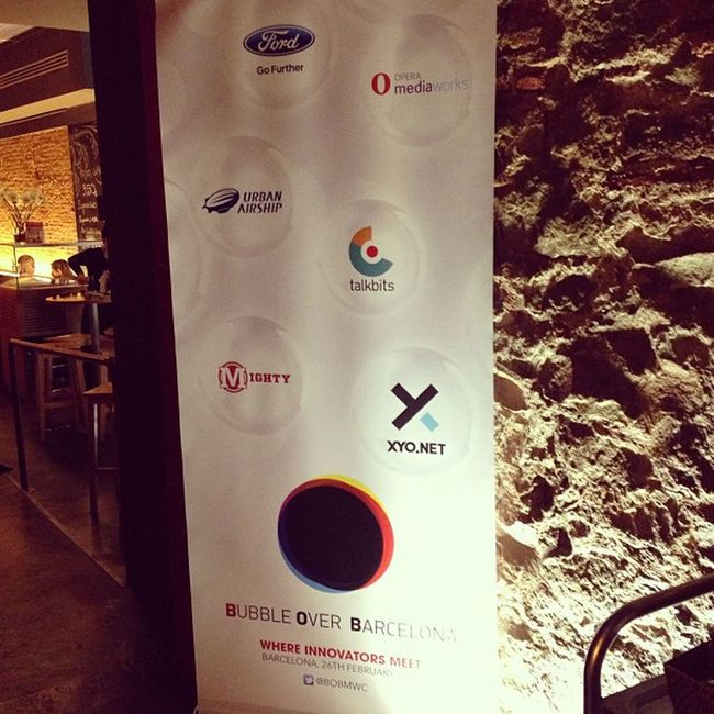 Thank you for the great party everyone. It was bubbly;) #mwc2013 bobmwc Mwc2013