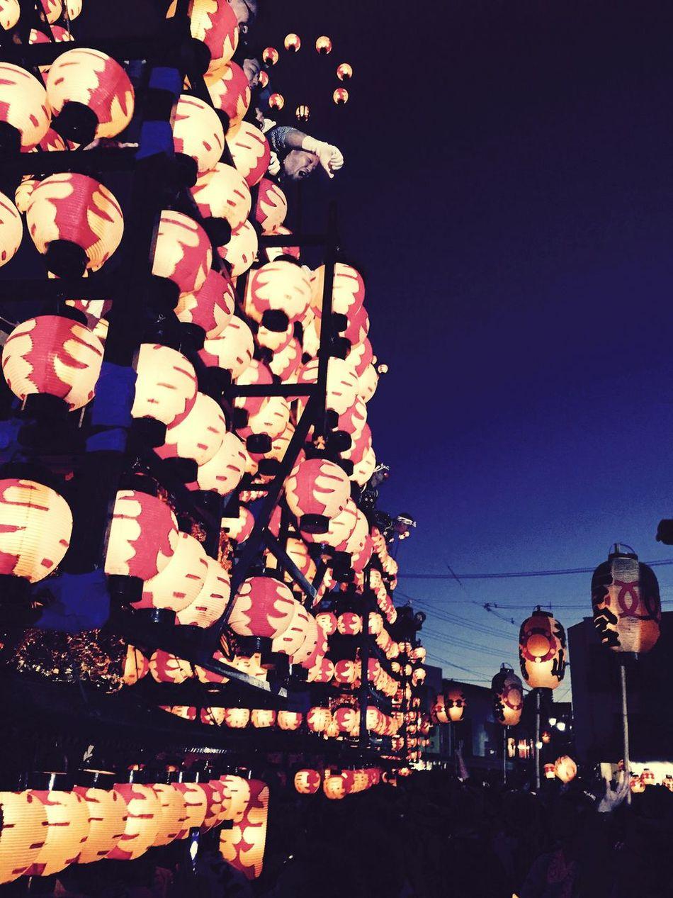 Nihonmatu-shi Lanternfestival 提灯祭り