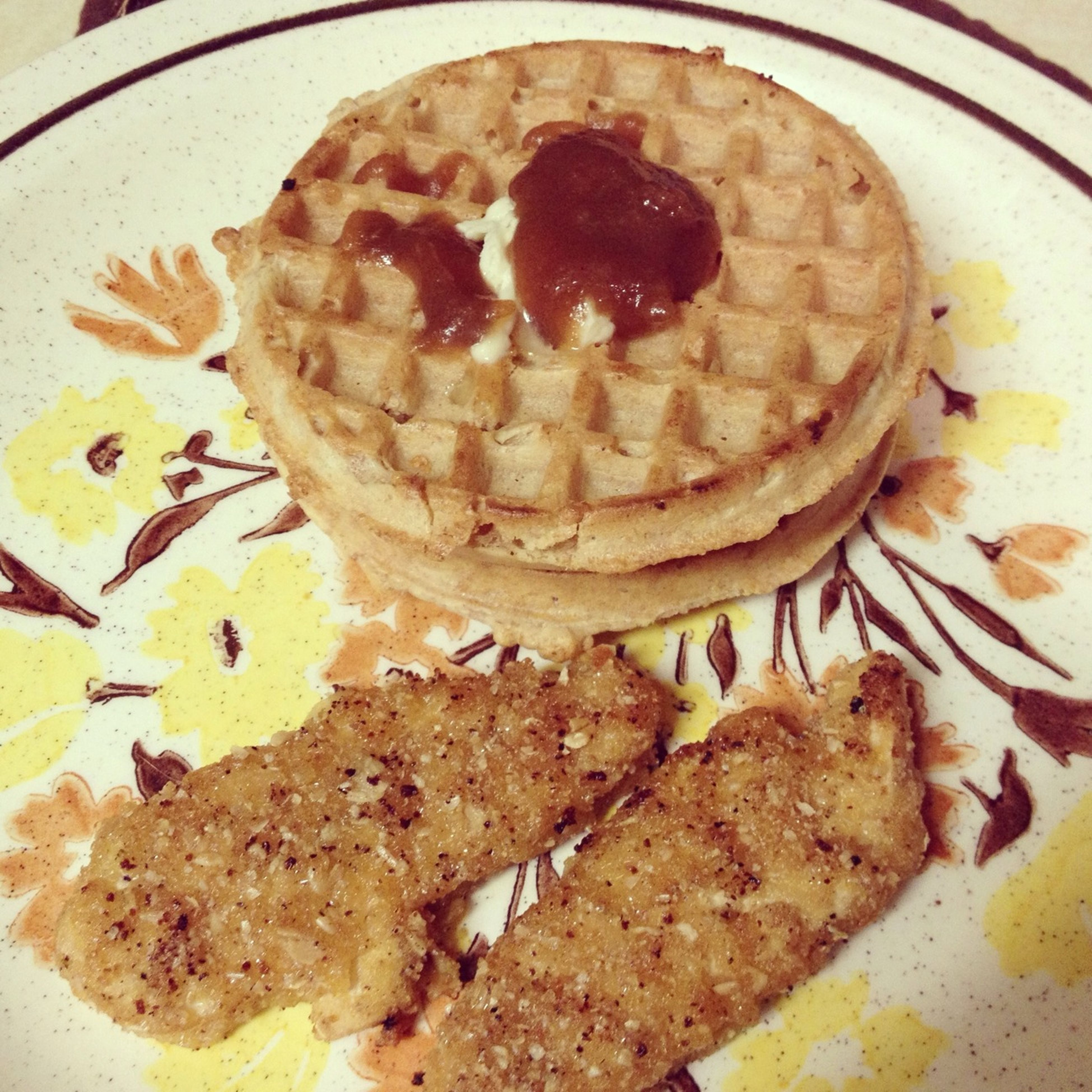 Chickn And Waffles.