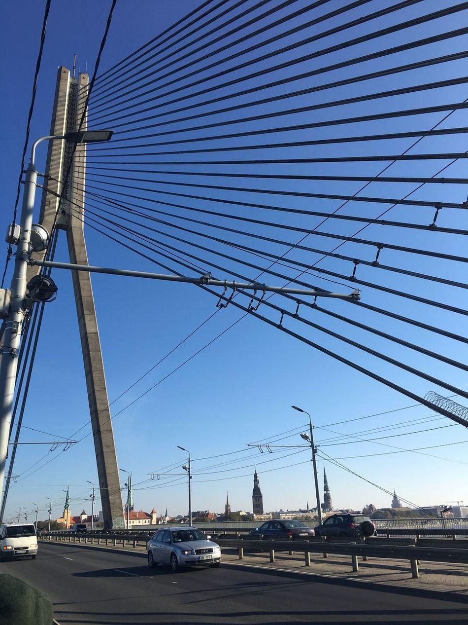 Bridge Riga Blue Sky Baltics2k16