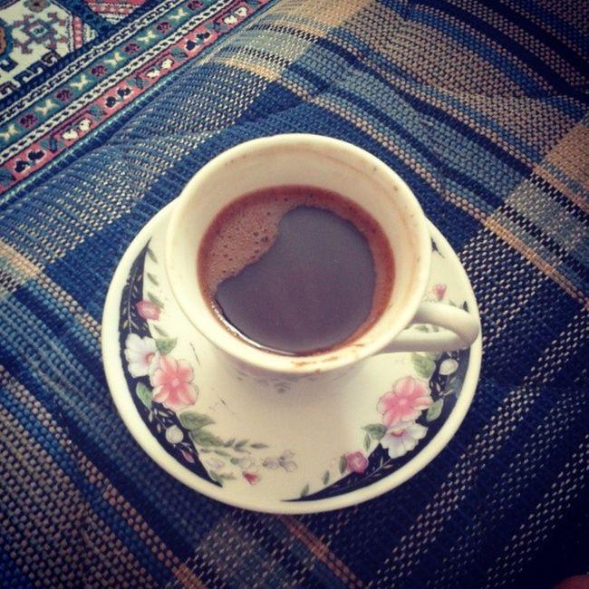Kendi Kahvemin Tadina Bakiyim artik