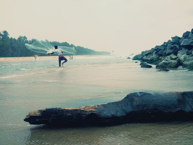 Beach, fishing, sea, kerala First Eyeem Photo