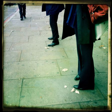 Bus stop waiting in a chilly London! Bus Stop Legs London Eye4photography