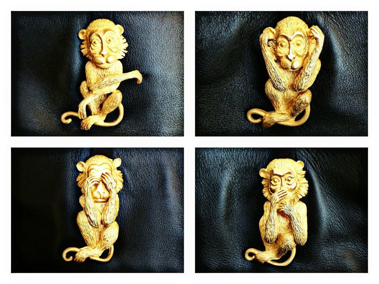 Monkey year!👍🍀💰 Monkey MonkeyYear2016 Gold Valentino Bag Lucky 2016 Goodluck
