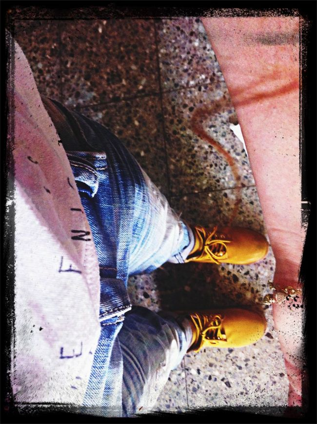 With ma sister... Timberland Fashion Effect First Eyeem Photo