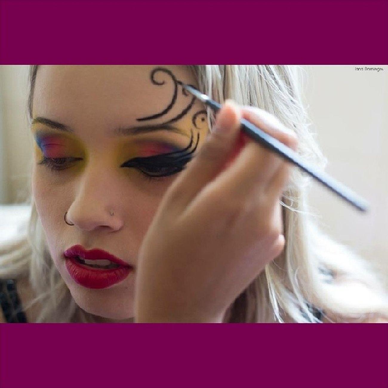 Colorindo a Lorão! Maquiagemartistica Tribalmake Maquiagem Maquiadora job luescarbemakeup