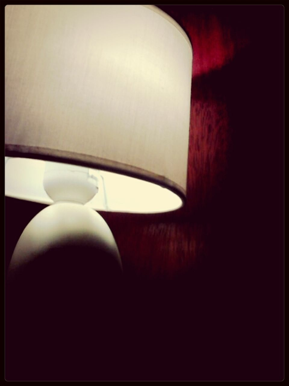 lamp shade, indoors, close-up, table, no people, illuminated, electricity, technology, day