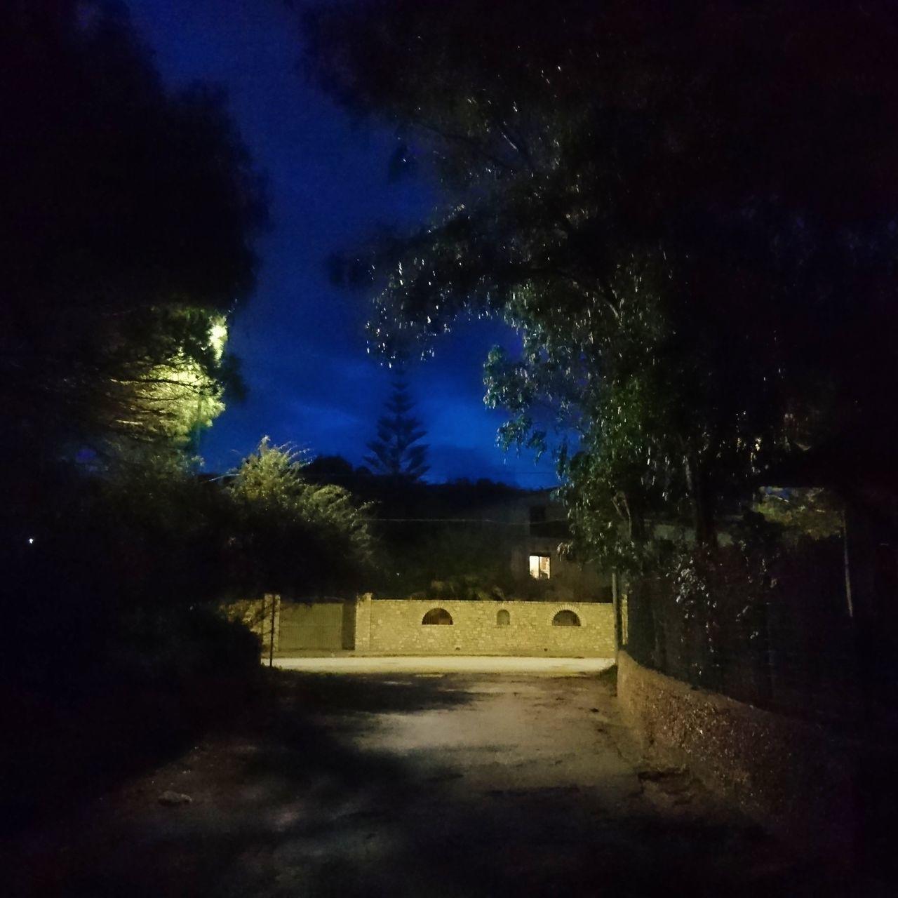 Tree No People Illuminated Night Outdoors Beauty In Nature Nature Sky Dusk Dusk Sky Agrigento