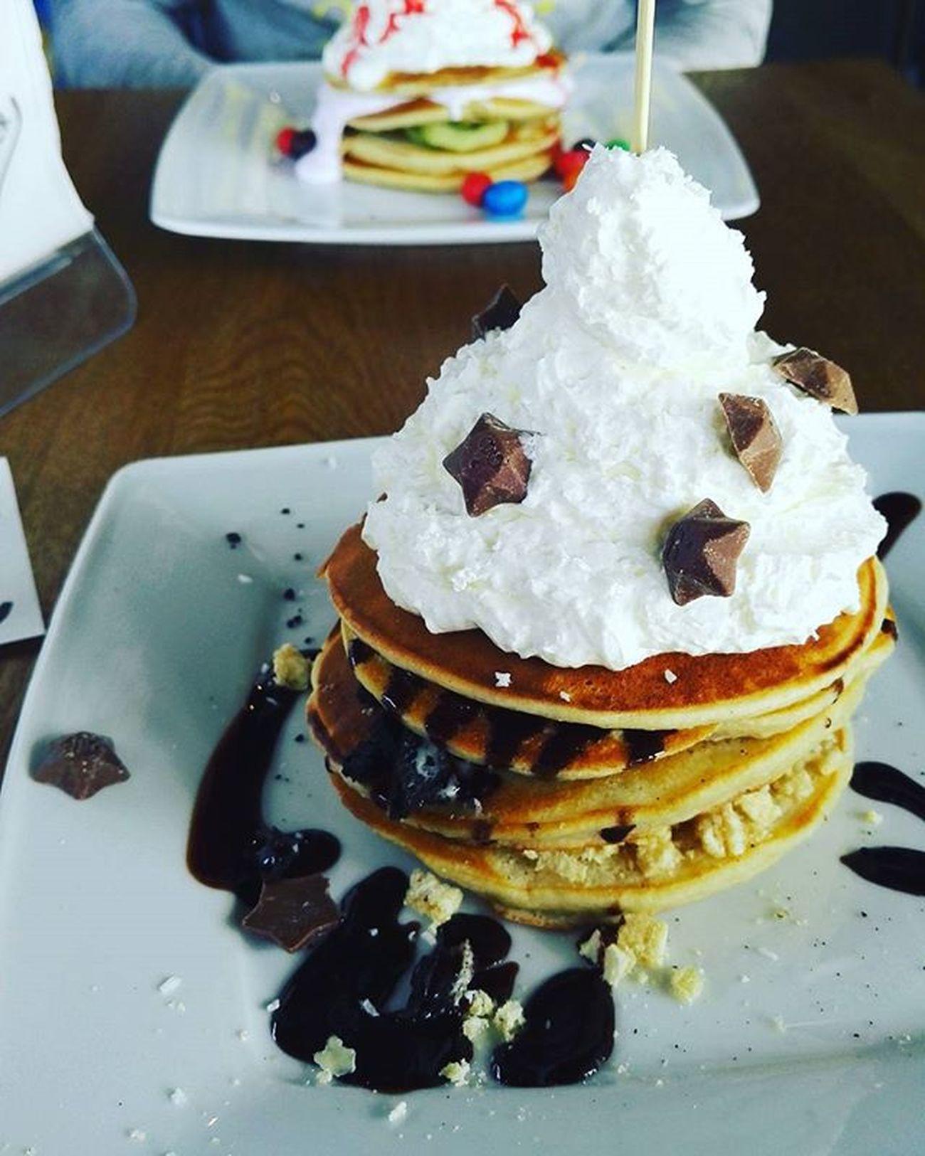 Pancakes Surfburger Love Yummy MagicStars Hersheys Chocolate Cream Candy Breakfast