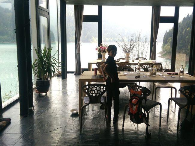 Little friend Restaurant Lake View Sauris