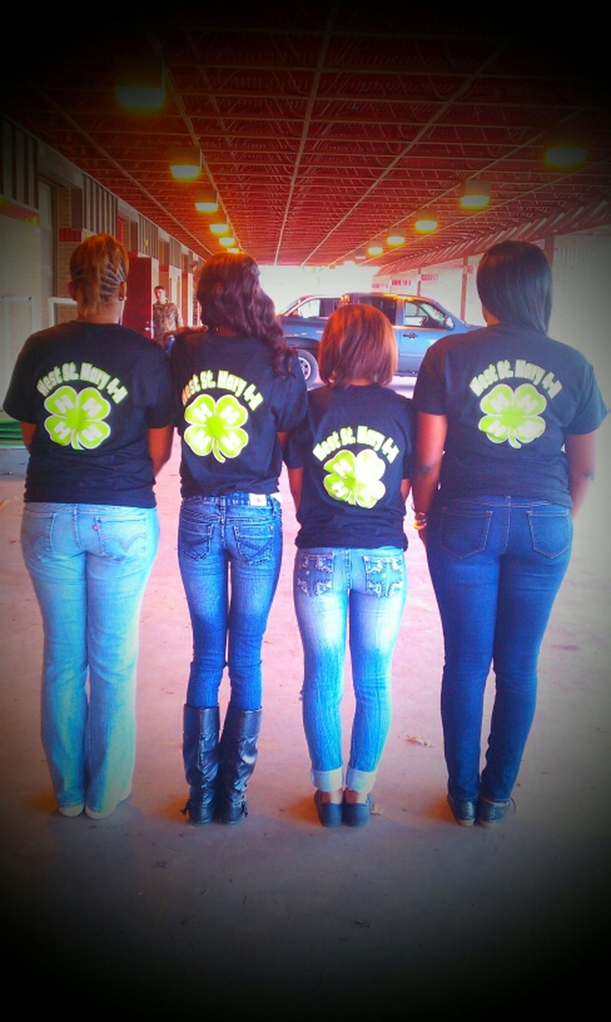 Me , Niyah , Shay , & Nebra !