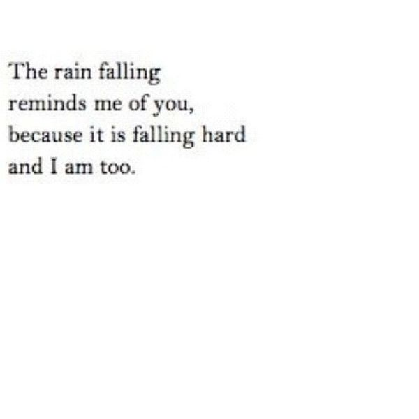 Quote Lyric  Text Pretty cute rain falling
