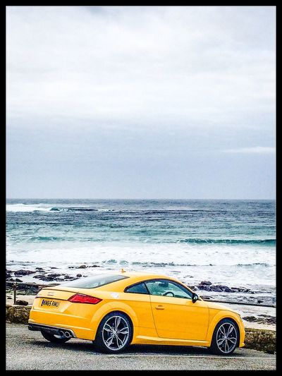 MeinAutomoment Car beauty Surfing Feel The Journey Hello World Getting A Tan On The Move Colours Gazing Audi Automobile Relaxing Sea