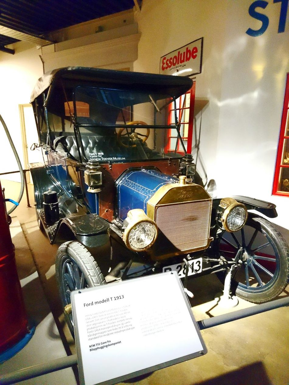 Ford Ford T Car History Bil Norway Norge Oslo Museum Science Museum  Technology Oldcar 1913 Photo Norgephoto Like Like4like Likeforfollow