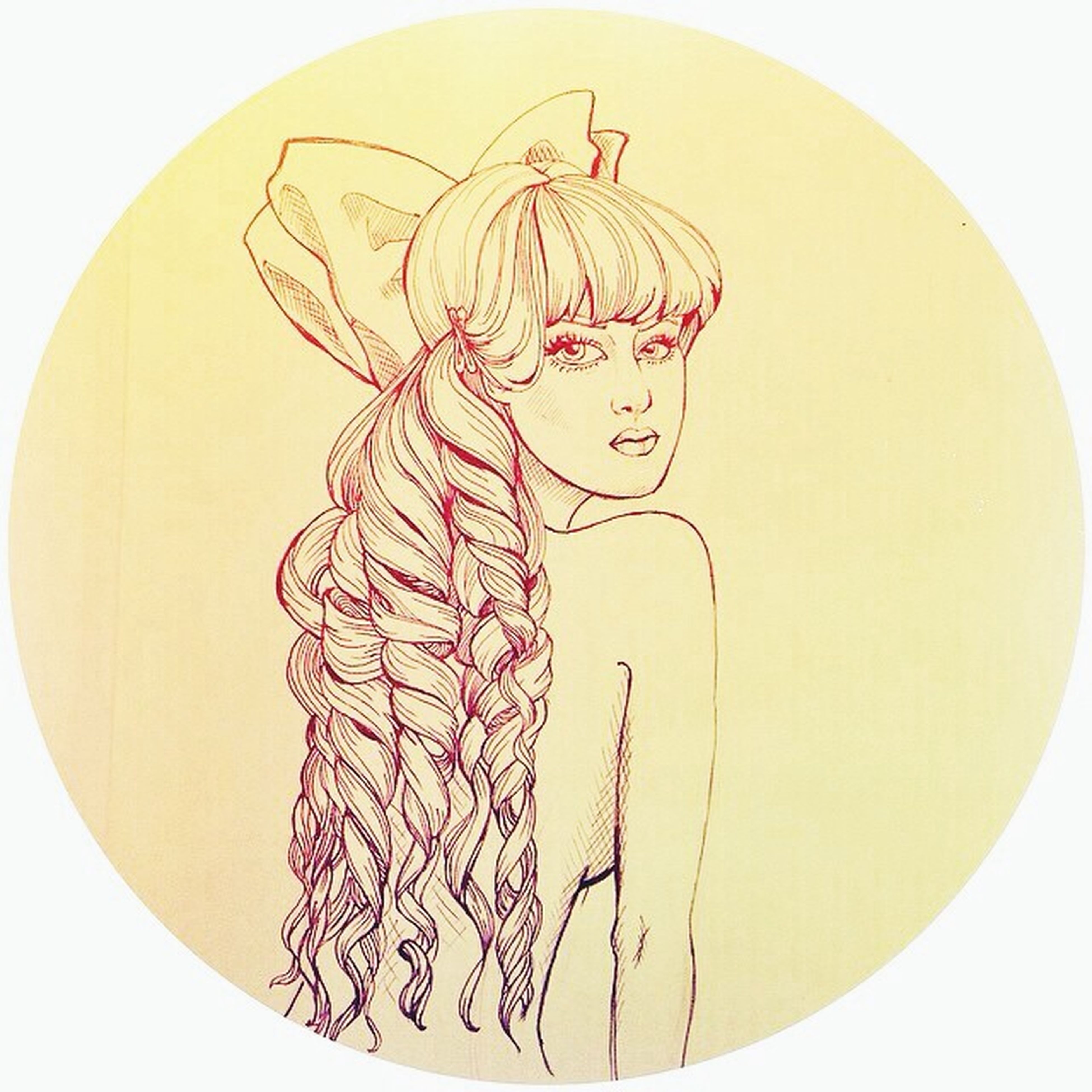 Art Drawing Summertime Sketch