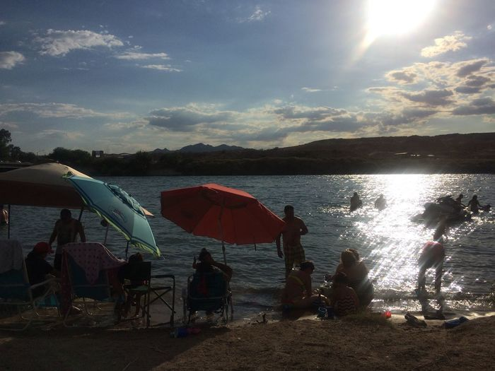 The Great Outdoors - 2015 EyeEm Awards Colorado River Forth Of July Side Of The River