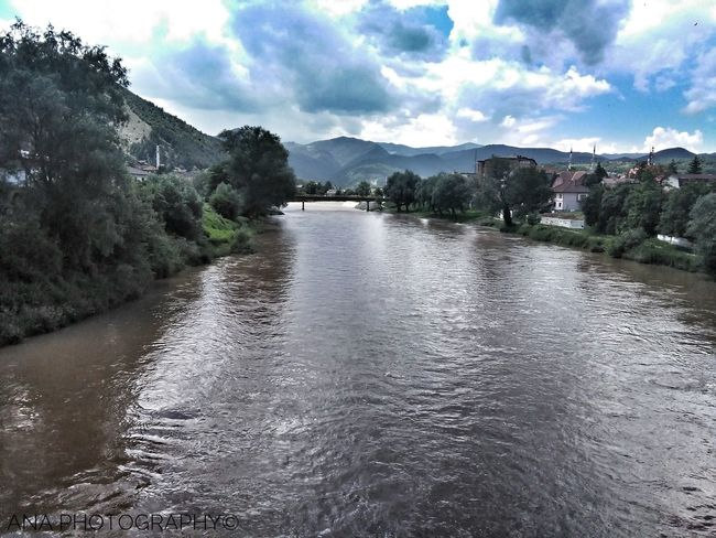 Žepče River Bosnia Bosnia Herzegovina Bosnaandhercegovina