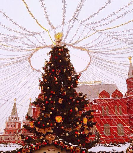 The Culture Of The Holidays Red_square