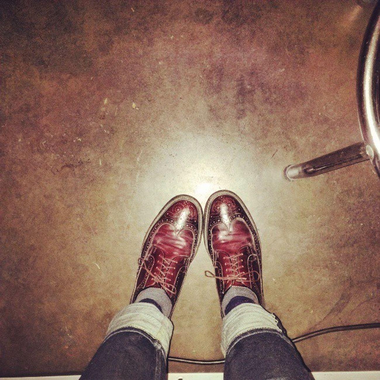 Change of audio nerd Uniform . Traded in my steel toes for Oxblood Wingtips & I'm never going back Tretornsxsw