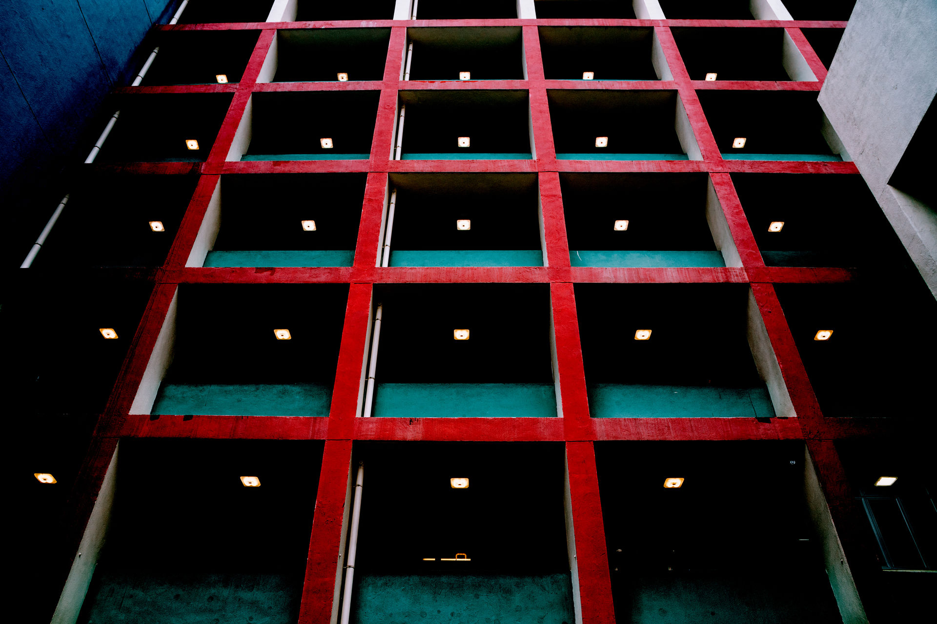 Architecture Architecture building exterior lines and shapes no people pattern symmetrical window