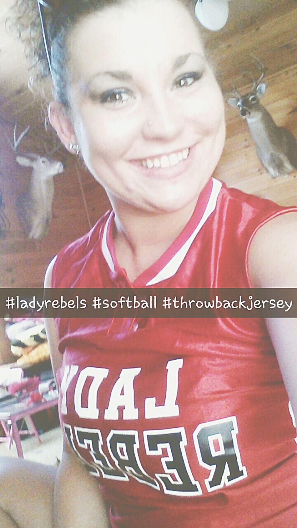 Throwback ✌ jersey Ladyrebels Softball
