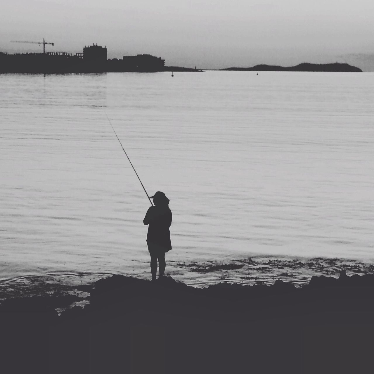 Beautiful stock photos of fishing, Beauty In Nature, Day, Fishing, Full Length