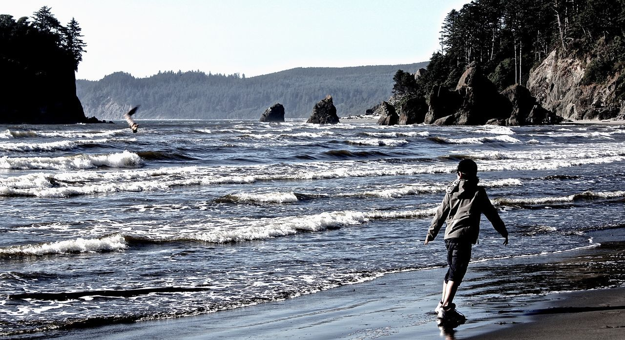 Ruby Beach Nationalpark EyeEm Nature Lover Capture The Moment Protecting Where We Play Coast Rubybeach The Moment - 2015 EyeEm Awards Beautiful Nature Beachphotography Capturing Freedom Ruby Beach Blue Wave