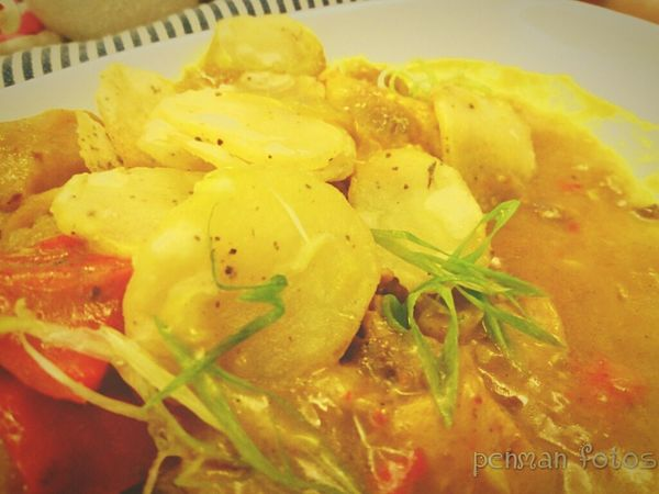 Lazyyyy afternoon chicken curry....