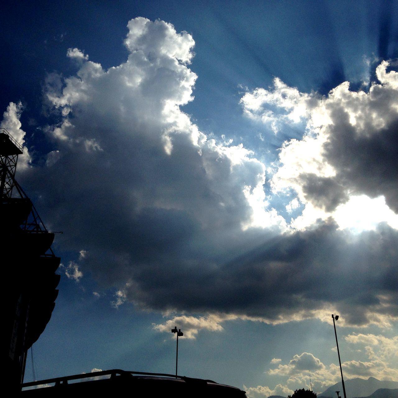 Glorioso Estadio Azteca !!! Aztec Stadium Club America Sunset Clouds And Sky Atardecer Estadioazteca Nubes