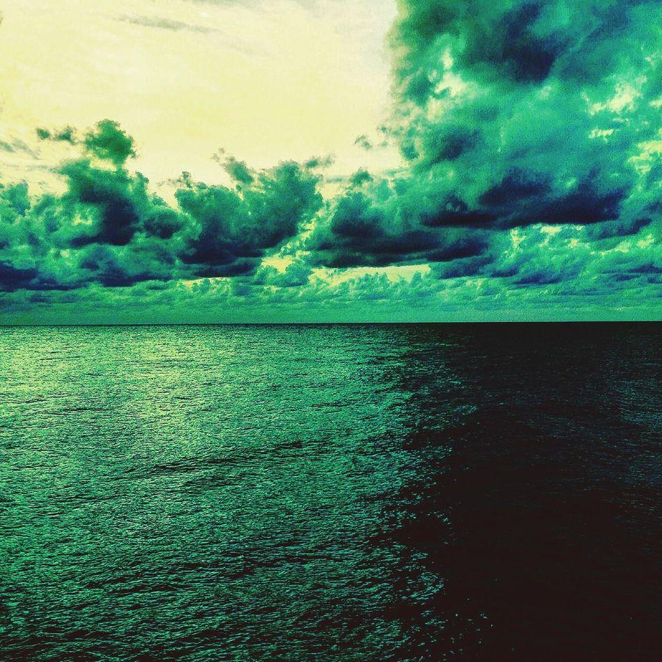 Sunrise Green Green Green!
