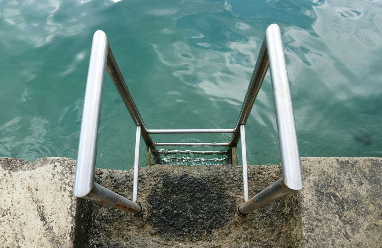 Water Outdoors Nautical Vessel Quay Wall Quay Ladder To Water