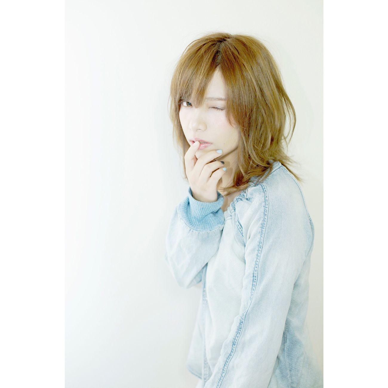 2人目カールスタイル 美容室 サロンモデル 箕面 Hairstyle Kokubutoshinobu Japanese Girl Japan Beauty Girl Beauty Of Nature Beauty Hair