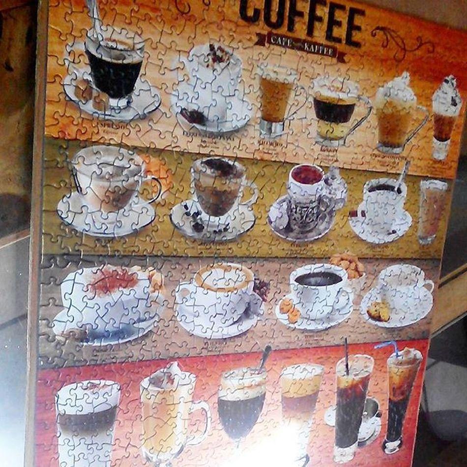 Puzzle  Coffee Rompecabezas