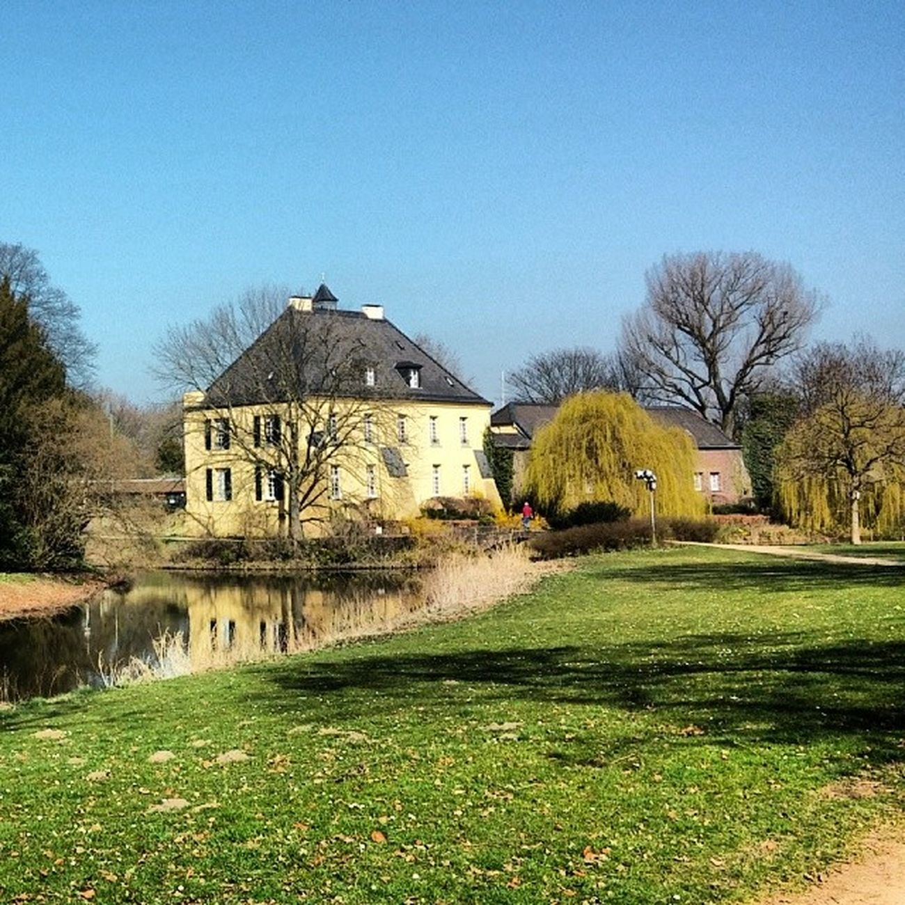 Jagdschloss Linn LinnerBurg BurgLinn Burg Schloss Park BurgPark Krefeld