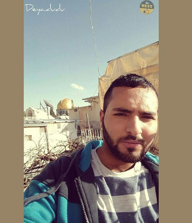 DEYA ( Hanging Out Everyday Joy That's Me Have A Nice Day! Jerusalem قبة الصخرة Al-Aqsa Mosque....Qopat Alskhra(Dome Of The Rock)....Takin' By Me باب العمود Today :) Selfie ✌