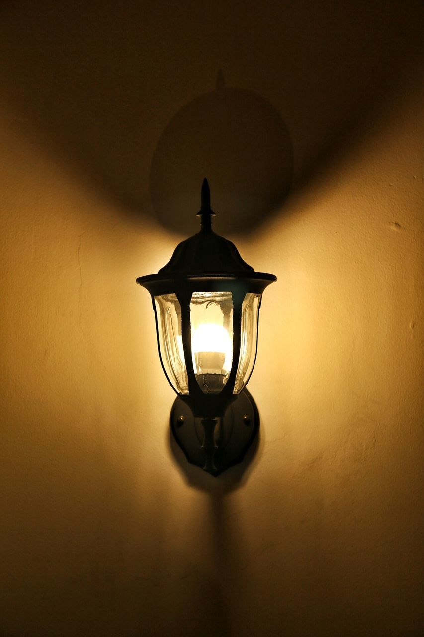 lighting equipment, illuminated, electricity, electric lamp, indoors, no people, hanging, lamp shade, light bulb, close-up, filament
