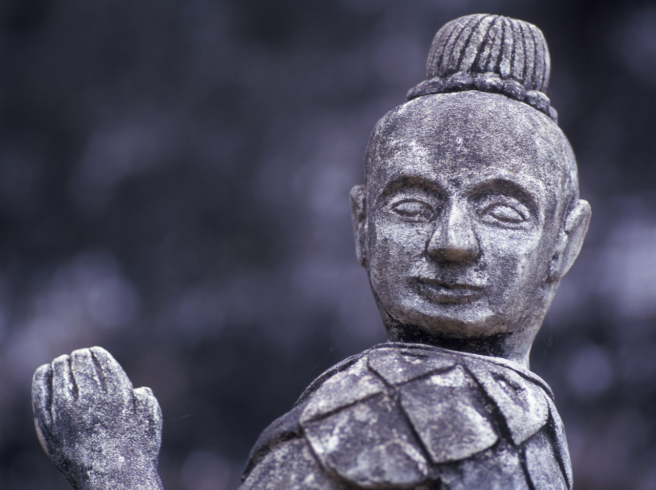 buddhist monk stone statue Buddhist Monks Close-up Concrete Culpture Day Focus On Foreground Grey Color Human Representation No People Statue Stone Stone Material