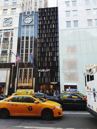 Travel Destinations Newyorkcity Traffic HUBLOT City Day Outdoors Architecture