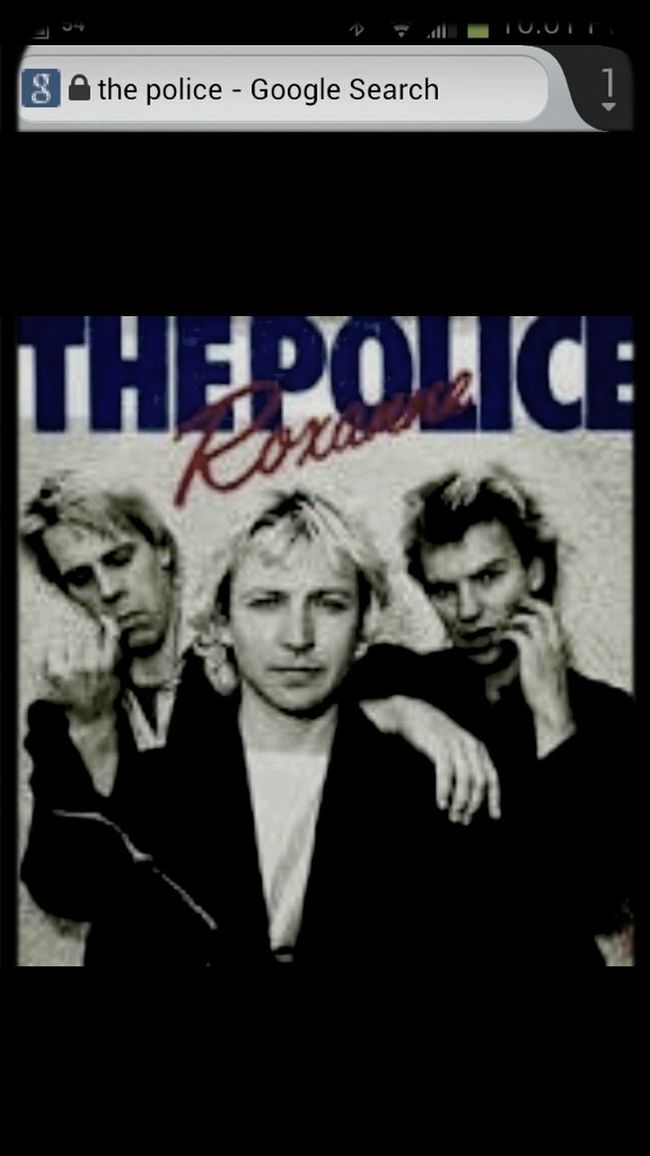 "I Declare The Next 24 Hours Be Deemed Inernational""the POLICE* DAY!"