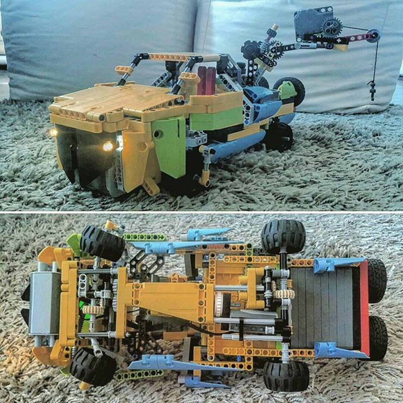 9volt 4x4 SUV LegoTechnic Custom Netto16ora :D