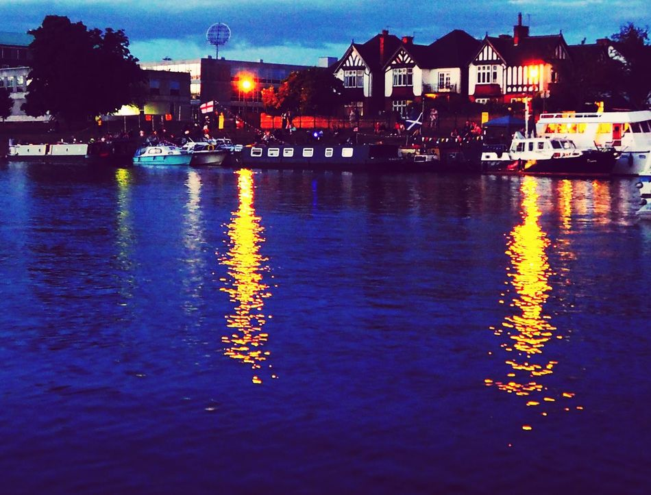 VictoriaEmbankment Nottingham Riverside River Night View Trent Bridge Trent