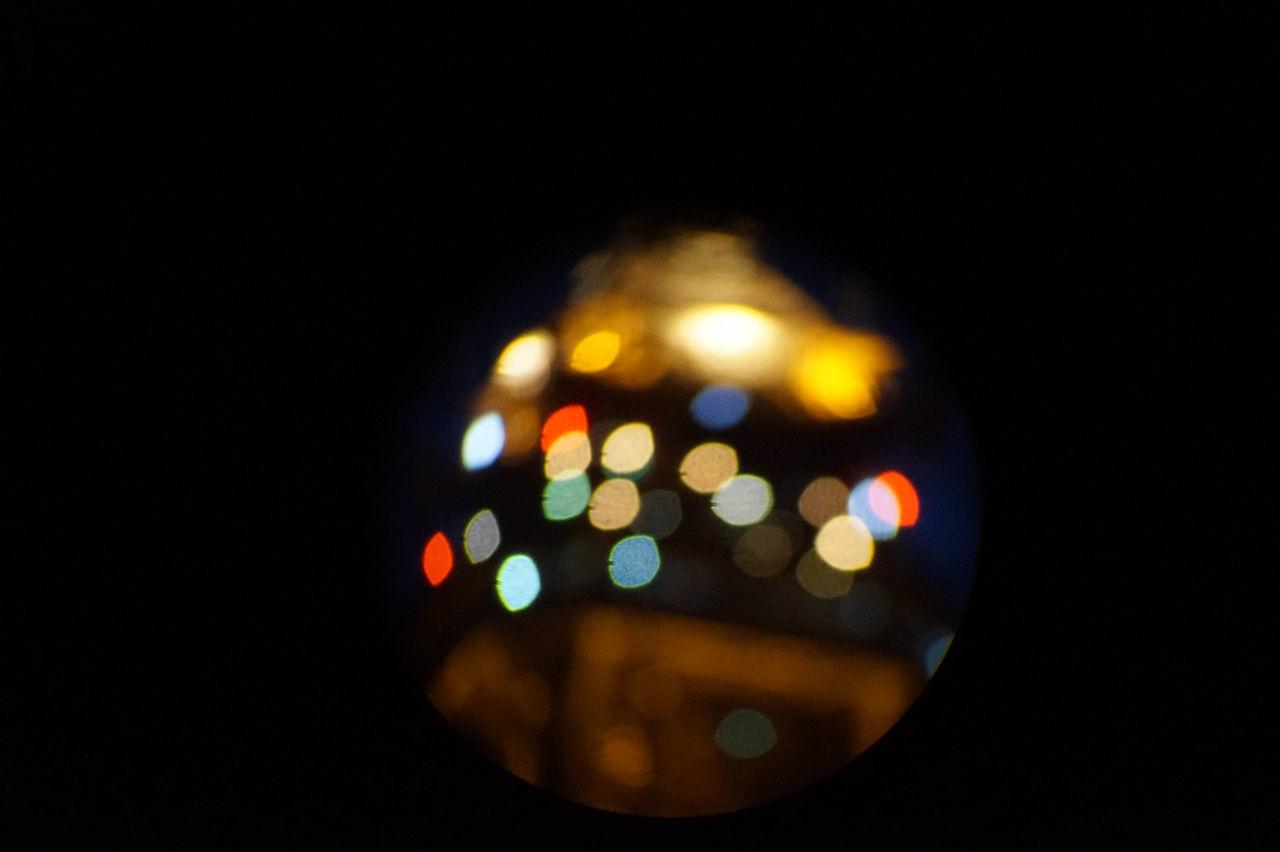 Beautiful stock photos of paris, illuminated, copy space, black background, night
