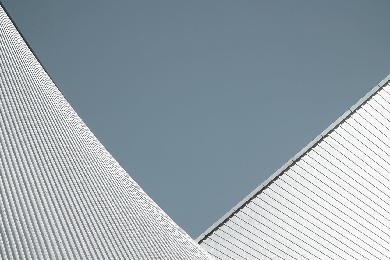 Geometry Modern Architecture Clear Sky Church Façade KenzoTange Religion Simplicity Architecture Abstract Modernism